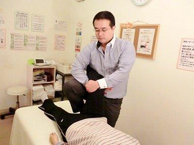 大腰筋への施術